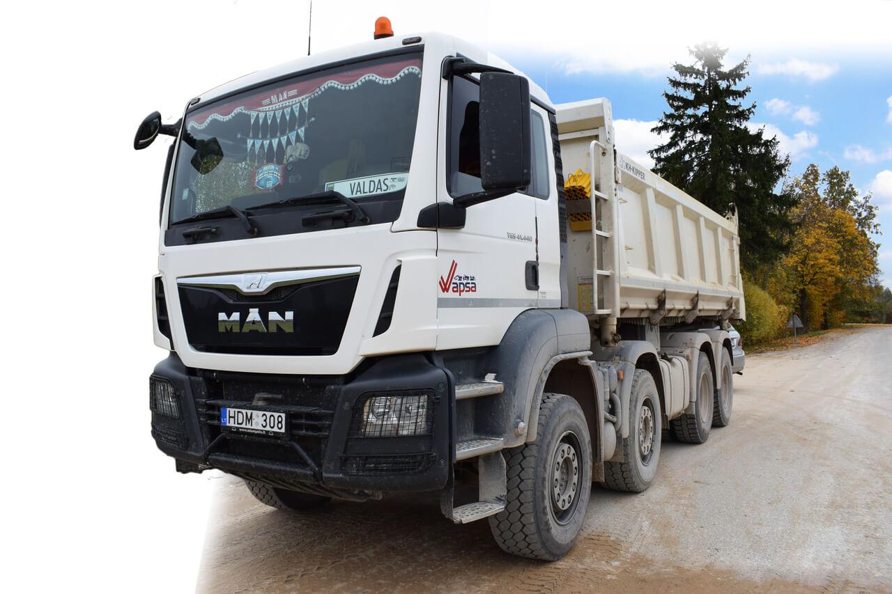 Technika/Transportas statybinių medžiagų pervežimas Wapsa.lt